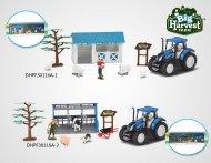 DIHUA TOYS fermos rinkinys Big Harvest, DHPF30116A DHPF30116A