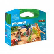 PLAYMOBIL Dino Tyrinėtojo lagaminėlis, 70108 70108