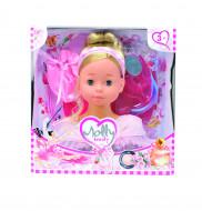 BAMBOLINA lėlės galva puošimui Molly, 40 vnt aksesuarų, BD1366 BD1366