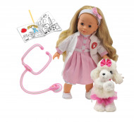 BAMBOLINA kalbanti lėlė Veterinarė Molly RU, BD1384RUS BD1384RUS