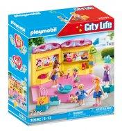 PLAYMOBIL CITY LIFE Vaikų mados prekių parduotuvė, 70592 70592