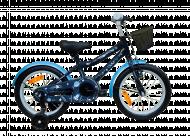 QUURIO dviratis Wooohooo 16'' EKBKOT-003