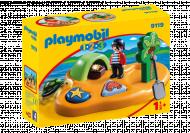 PLAYMOBIL 1.2.3 Piratų sala, 9119 9119