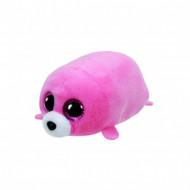 TY Teeny Tys pliušinis rožinis jūrų liūtas SEAWEED, 42218