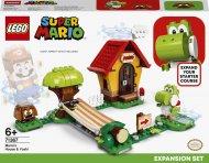 71367 LEGO® Super Mario™ Mario namų ir Yoshi papildymas 71367