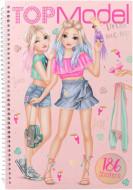 TOPMODEL Dress Me Up Tropical spalvinimo knygelė, 10576 10576