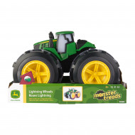 JOHN DEERE žaislinis traktorius su šviečiančiais ratais, 46644 46644