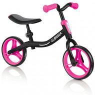 GLOBBER balansinis dviratis Go Bike juodas/rožinis, 610-132 610-132