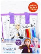Frozen 2 Colour Your Own Totebag - Elsa, DFR2-4146-2 DFR2-4146-2