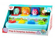 PLAYGO INFANT&TODDLER Lavinamasis žaislas Pasislėpę gyvūnėliai, 2461 2461