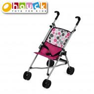 HAUCK vežimėlis lėlei Uno Mini, rožinis, D81009 D81009