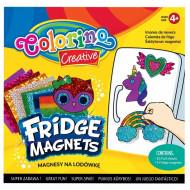 COLORINO CREATIVE šaldytuvo magnetukų rinkinys, 91411PTR 91411PTR