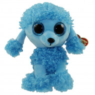 TY Beanie Boos pliušinis mėlynasis pūdelis MANDY 15,5cm, TY36851