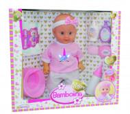 BAMBOLINA lėlė su dovanų rinkiniu 36cm, BD1821 BD1821