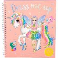 Ylvi & the Minimoomis Dress Me Up Lipdukų knyga, 10467 10467