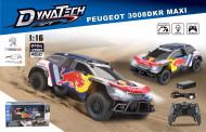 DIHUA TOYS RC mašina Peugeot 3008dkr Maxi, 1:16 2,4g, DHTRC10346B DHTRC10346B