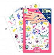 DJECO Body Art Tatuiruotės Saldžiosios svajonės, DJ09592 DJ09592
