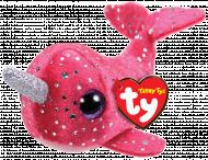 TY Teeny Tys pliušinis banginis rožinis NELLY, TY41259