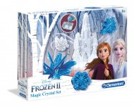 CLEMENTONI Kūrybinis rinkinys Frozen 2  Magic Crystal set, 18524 18524