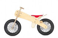"""DIP DAP balansinis dviratukas su raudona sėdyne MINI 10"""", MS-03/1_red MS-03/1_red"""