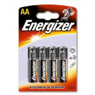 ENERGIZER baterijos LR6 AA, blister*4