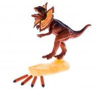 MEGASAUR MIGHTY strėlėmis šaudantis dinozauras, 16912 16912