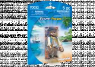 PLAYMOBIL Figūrėlė Piratas, 70032 70032
