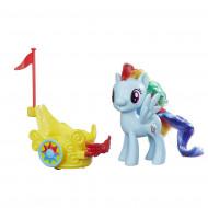 MY LITTLE PONY ponis su karieta, W1 17, asort, B9159EU4 B9159EU4