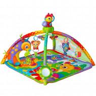 PLAYGRO žaidimų kilimėlis su muzika ir garsais Woodlands, 0186993 0186993