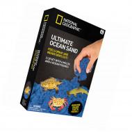 NATIONAL GEOGRAPHIC kinetinio smėlio rinkinys su jūros gyvūnais, 0,9kg, 21374 21374