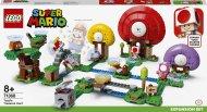 71368 LEGO® Super Mario™ Rupūžės lobio paieškų papildymas 71368