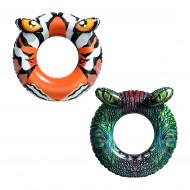 BESTWAY pripučiamas plaukimo ratas Krokodilas/Tigras 91cm, asort., 36122 36122