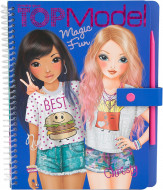 TOPMODEL spalvinimo knyga Magic Fun, 10015 10015