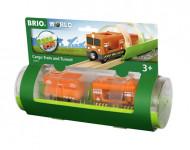 BRIO traukinys su tuneliu Cargo, 33891 33891