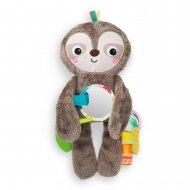 BRIGHT STARTS minkštas žaislas Slingin' Sloth , 12501-6-MEWW-YW2 12501-6-MEWW-YW2