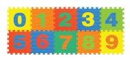 CHIPPY Dėlionė kilimėlis skaičiai (0-9) 10vnt, 1001U 1001U
