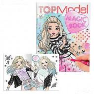 TOPMODEL Magic Book spalvinimo knygelė, 10134 10134