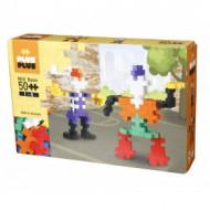 PLUS PLUS konstruktorius BIG Basic 50 - Robots, 3215 3215