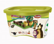 SMOBY MASHA AND THE BEAR konstruktorius Bear´s Garden, 800057092 800057092