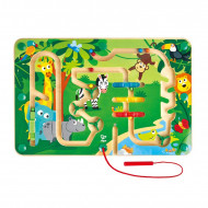 HAPE lavinamasis žaislas Jungle Maze, E1714 E1714