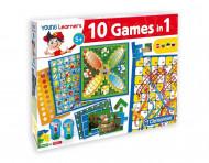 CLEMENTONI žaidimas FUN TOGETHER 10in1 GAMES  (LT+LV+ET+RU), 60482 60482