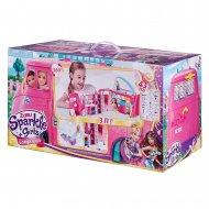 SPARKLE GIRLZ lėlės rinkinys namelis ant ratų, 100262 100262