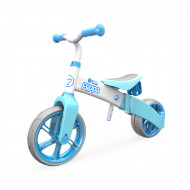 YVOLUTION balansinis dviratis YVelo Flippa, šviesiai mėlynas,  100612 100612