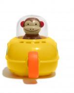 SKIP HOP vonios žaislas - submarinas Zoo Pull & Go Monkey 235352 235352