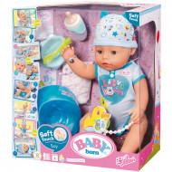 BABY BORN interaktyvi lėlė, berniukas 818343/818701/819203/822012/824375/824375