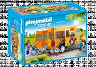 PLAYMOBIL CITY LIFE Mokyklos autobusiukas, 9419 9419