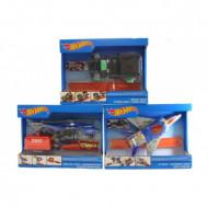 HOT WHEELS lėktuvas, sraigtasparnis, sunkvežimis, FDW70