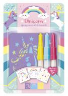 TOTUM piešimo kūrybinis rinkinys Unicorn Spray Pens, 071018 071018