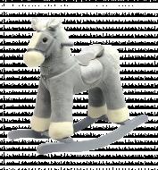 ROCK MY BABY sūpuoklės - arkliukas, pilkas, JR6014 JR6014