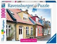 RAVENSBURGER dėlionė Houses in Aarhus Denmark, 1000d., 16741 16741